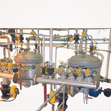 Installation of 2 X 20 Sq. M candle filter with complete Automation at Indonesian plant