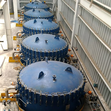 Installation of 142 m2 VPLF'S in one of the Refinery