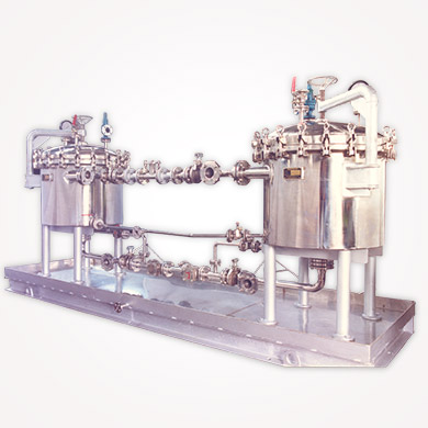 Horizontal Plate Closed Filter in India