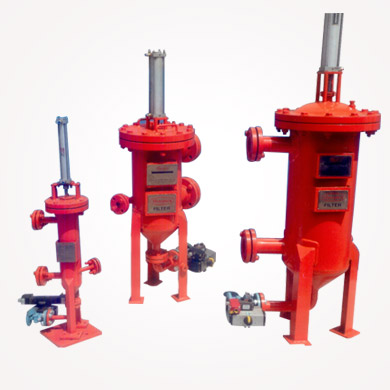 Pneumatic Disc Filters